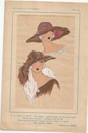"""LES CHAPEAUX DU """" TRES PARISIEN """"  HIVER 1923 , CREATION CORA MARSON - Collections"""