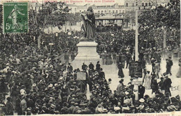 Meeting Viticole  1907 BEZIERS  Les Discours Place De La Citadelle - Beziers