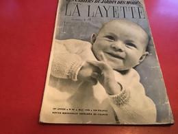 Revue - Les Cahiers Du Jardin Des Modes : La Layette 1955 Publicité La Layette - Fashion
