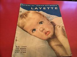 Revue - Les Cahiers Du Jardin Des Modes : La Layette 1959 Publicité La Layette - Fashion