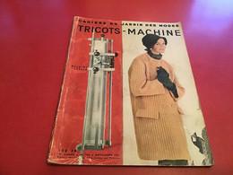Cahier Du Jardin Des Modes  De Tricot Machine1957 Laine Des 3 Suisse Modèle - Fashion