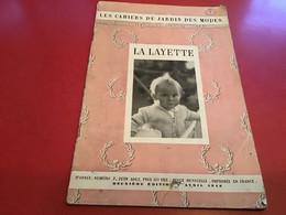 Les Cahier Du Jardin Des Modes  La Layette La Broderie 1948 - Fashion