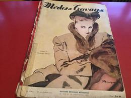 Modes Et Travaux  Broderie  1942 Création De Gilbert Orcel  Avec Patron - Fashion