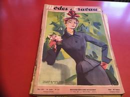 Modes Et Travaux  Broderie  1952 Publicité Création   Sans Le Patron - Fashion