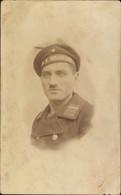Photo CPA Deutscher Soldat In Uniform, Seemann, SMS Helgoland - Unclassified