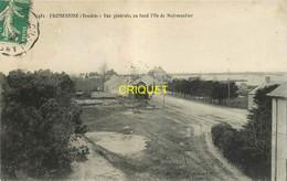 85 Fromentine, Vue Générale, Au Fond Noirmoutier, La Gare En Avant, Carte Pas Courante Affranchie 1912 - Sonstige Gemeinden