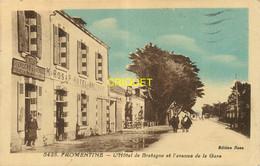 85 Fromentine, L'Hotel De Bretagne Et L'Avenue De La Gare - Autres Communes