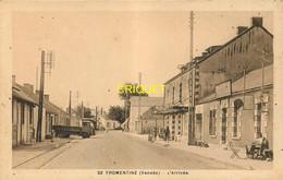 85 Fromentine, L'arrivée, Animée, Vieux Camion Benne... - Autres Communes