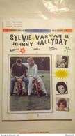 BOOK SYLVIE VARTAN JOHNNY HALLYDAY AUDREY SHEILA CONNIE FRANCIS Yè Yè 60's Beat - Cinema E Musica
