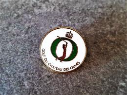 PINS SPORTS  GOLF  Du CHÂTEAU DES ORMES / 33NAT - Golf