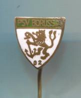 Football Soccer Futbol Calcio - PSV BORUSSIA 02 Dusseldorf Germany, Vintage Pin Badge Abzeichen, Enamel - Calcio