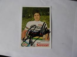 Cyclisme -  Autographe - Carte Signée Francesco Moser - Cycling