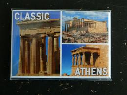 MAGNET GRECE GREECE HELLAS CLASSIC ATHENS ATENE ACROPOLE - Tourism