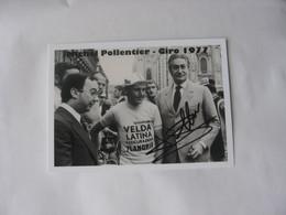 Cyclisme -  Autographe - Carte Signée Michel Pollentier - Cycling