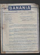 Courbevoie (92 Hauts De Seine) Lettre Dactylographiée Avec Entete BANANIA   Décembre 1929  (PPP31623) - 1900 – 1949