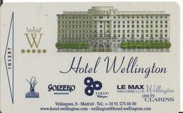 HOTEL WELLINGTON ROLEX - Chiavi Elettroniche Di Alberghi