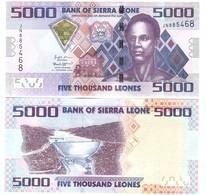 Sierra Leone - 5000 Leones 2018 UNC Lemberg-Zp - Sierra Leone