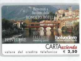 CARTA AZIENDA II TIPO DT NUOVA 47 BONOTTO HOTELS - Private-Omaggi
