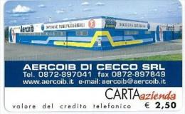 CARTA AZIENDA II TIPO DT NUOVA 64 AERCOIB DI CECCO - Private-Omaggi