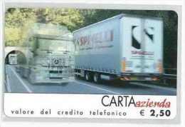 CARTA AZIENDA II TIPO DT USATA 155 SPINELLI - Private-Omaggi