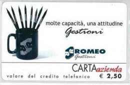 CARTA AZIENDA II TIPO DT NUOVA 267 ROMEO GESTIONI 3000 - Private-Omaggi