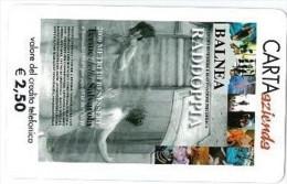 CARTA AZIENDA II TIPO DT NUOVA 546 BALNEA HOTEL - Private-Omaggi