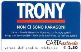 CARTA AZIENDA II TIPO DT NUOVA 625 TRONY - Private-Omaggi