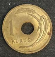TURQUIE - TURKEY - 1 KURUS 1951 - KM 881 - Turkey