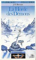 Un Livre Dont Vous êtes Le Héros N°318 - La Horde Des Démons - Loup Ardent 1 - Folio Junior Gallimard - 1985 TB - Otros