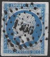 TP14,obl.PC1466,La Guerche Sur L'Aubois(CHER),ind.5 - 1849-1876: Période Classique
