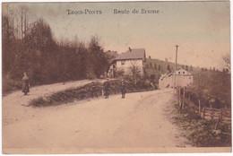 Belgique : Liège : TROIS-PONTS : Route De Brume : Animée : Colorisée - Trois-Ponts