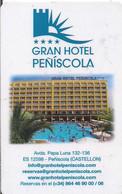GRAN HOTEL PEÑISCOLA - Chiavi Elettroniche Di Alberghi
