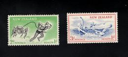 1348205108  1957 SCOTT B52 B53 (XX) POSTFRIS MINT NEVER HINGED POSTFRISCH EINWANDFREI  -  LIFE SAVING TEAM - Unused Stamps