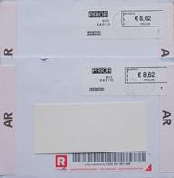 België 2021 Assebroek 8310 - Cijfer 1 En 2 - Automatenmarken (ATM)