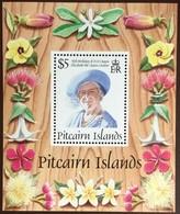 Pitcairn Islands 1995 Queen Mother Flowers Minisheet MNH - Pitcairneilanden