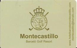 BARCELO GOLF RESORT MONTESCASTILLO ROLEX - Chiavi Elettroniche Di Alberghi