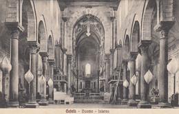 CEFALÚ-PALERMO-DUOMO-INTERNO- CARTOLINA  NON VIAGGIATA-ANNO 1915-1925 - Palermo