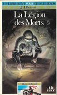Un Livre Dont Vous êtes Le Héros N°419 - La Légion Des Morts - Quête Du Graal 8 - Folio Junior Gallimard - 1987 BE - Autres