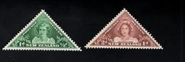 1348217423  1943 SCOTT B22 B23 (XX) POSTFRIS MINT NEVER HINGED POSTFRISCH EINWANDFREI  -  PRINCESS ELIZABETI - Unused Stamps