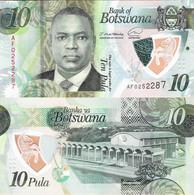 Botswana 2020 ND - 10 Pula - Pick NEW UNC Polymer - Botswana