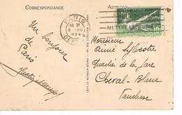 TIMBRE SEUL -  JEUX OLYMPIQUES 1924 - 08-07-1924 - JOUR DE COMPETITION - - Olympic Games