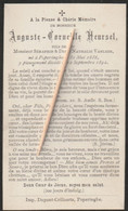 Poperinge, 1892, Auguste Heursel, Vanlede - Images Religieuses
