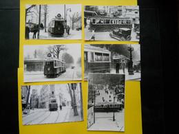 Photo ,TRAMWAY Et Gares De Paris Et Région Parisienne ; Collection Bourneuf , Clichy , Le Perreux - Treni