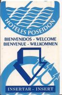 HOTELES POSEIDON DELFINES - Chiavi Elettroniche Di Alberghi