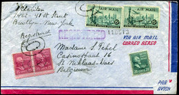 USA - Registered Cover To Sint-Niklaas, Belgium - Covers & Documents
