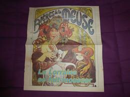 Affiche Publicité Coupure De Journal Ancien / BIERES DE LA MEUSE / La LORRAINE Se Fait Mousser - Posters