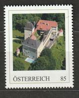 Personalisierte BM Luftansichten Von Schlössern Und Klöstern Burg Feistritz Neunkirchen Niederösterreich ** Postfrisch - Private Stamps