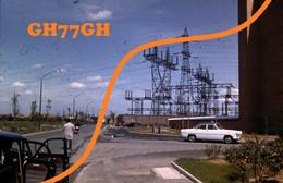 3 DIAPOSITIVES ORIGINALES 1962 -lieu Indéterminé (complexe électrique) - Dias