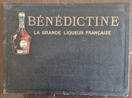 BENEDICTINE La Grande Liqueur Française PORTE MENU RESTAURANT BAR  Années 50 - Unclassified