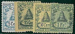 22024 - FRANCE  - MANS Local BANK SAVINGS Revenue Stamps - BEES Apiculture - Revenue Stamps